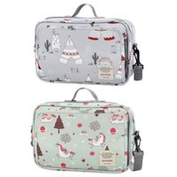 Diaper Bags Mommy Bag Pocket Design Large Capacity Stroller Hanging Nappy Organizer With Wipes Dispenser Baby Accessories