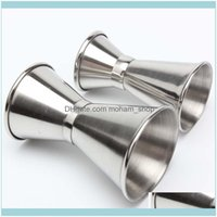 Tools Barware Kitchen, Dining Home & Gardenhome Stainless Steel Jigger Bartender Drink Mixer Double Sided Cup Cocktail Liquor Bar Measuring