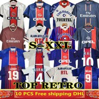 Okocha Retro Jersey 93 94 95 96 Leroy Adailton Beckham 98 99 00 01 02 03 90 92 Classic Rai Anelka Ibrahimovic Camisas de Futebol