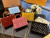 Wholesale designers designers Sacs Box Style Design Femmes Luxurys Sac Messenger Sac acrylique Transparent Bijoux Soirée Sac à main