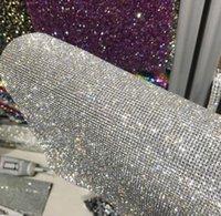 40 * 24cm Adesivo Malha Brocas Completa Diamante Decorativo Drill Broca De Carro Adesivo DIY Telefone Celular Acessórios de Jóias WJL0326