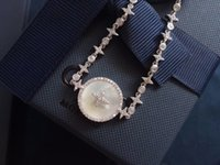bracelet jewelry link chain watch White Fritillaria Full diamonds It is classic to match with Earring Necklace of the same series