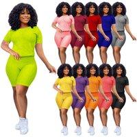 Donners Designer Abbigliamento 2021 TRACKSUIT TRACCINA PIANO SPORTS Sport per il tempo libero Pantaloni Yoga Set da donna per il sudore da jogger estivo