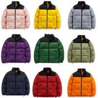 2021 Erkek Tasarımcı Aşağı Ceket Kış Yeni Pamuk Bayan Ceketler Parka Moda Açık Rüzgarlıklar Çift Kalın Temel Ceket Dışında Hip Hop Erkekler S Giyim
