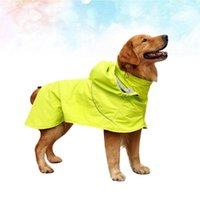 Собака с высоким воротником Дождь дождь Водонепроницаемая нейлоновая дождевая одежда Регулируемая одежда Творческие домашние животные (размер XS)