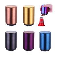 Edelstahl Bieröffner Automatische Push Bier Flaschenöffner Jar für KTV Bar Home Restanrant Flaschenöffner HH21-246