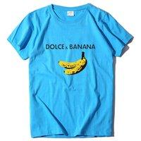 캐주얼 여자 티셔츠 짧은 소매 티 탑 여성 바나나 재미 있은 드롭 옷 여자의 티셔츠