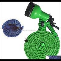 Supplies Patio, Home & Garden3 Times Expandable 25Ft 50Ft 75Ftgarden Lawn Patio Watering Equipments Gun Flexible Hose Water Garden Pipe With