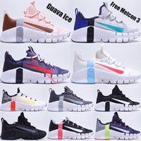 Ücretsiz Metcon 3 Maraton Koşu Ayakkabıları Guava Buz Gri Sis ABD Kraliyet Mavi Soluk Fildişi Üçlü Siyah Koyu Gri Kızıl Erkek Kadın Açık Sneakers