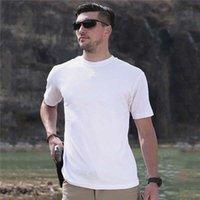 망 티셔츠 여름 짧은 소매 패션 레저 폴로 야외 자켓 라운드 넥 옷 21SS 7 색 M-5XL - Q136