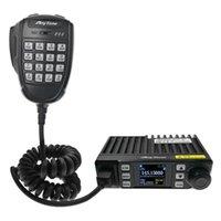 Walkie Talkie Anytone AT-779UV Mini Ham Mobile Radio VHF UHF Dual Band 199CH 25W FM Car 12V Cigarette Supply