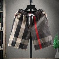 Koreli erkek şort tasarımcı tarzı ve yaz versiyonu gevşek rahat çok yönlü düz serin trend spor pantolon