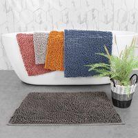 Encrypted Plush Carpet Solid Color Simple 21 Colors Bathroom Bedroom Doorway Mat Water-absorbent Non-slip Thickened Blanket Rug OWE6719