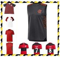 2021 2022 Flamengo Futebol Jerseys Flamenco Camisetas de Fútbol Gabriel B. Diego 21 22 Pedro Gerson Homens Polo Treinamento Vest Futebol Camisa