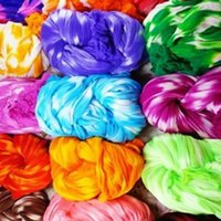 Decorative Flowers & Wreaths 5Pcs Color Silk Screen Flower Home Decoration Special DIY Net Stocking Making Material Wedding