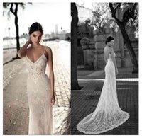 LORIE Lace Mermaid Wedding Dress 2019 Vestidos de novia Spaghetti Straps Sexy Bridal Gown Elegant Backless Gowns
