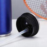 17Oz Sublimation Cola 500ml Wasserflasche in Masse Doppelwandige Edelstahl Cola Form Tumbler Isoliertes Vakuummeer versandkostenfrei EEB5711