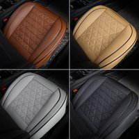 Car Seat Covers Front Cover PU Leather Cars Cushion Automobiles Protector Universal Chair Pad Mat Auto Accessories