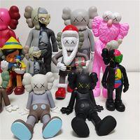 Muñeca planeta de 20 cm Muñecas de 8 pulgadas Decoración hecha a mano Regalo de Navidad OriginalFake BFF Street Art PVC Acción con caja original
