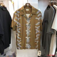 Kapital Indian Eagle ريشة 20ss زوجين شارع الهيب هوب قصيرة الأكمام قميص