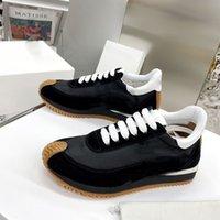 2021 كبار مصمم أسود رمادي عارضة الأحذية سرعة مدرب الفاخرة الداخلية الارتفاع الفاخرة المرأة الأحذية الرياضية منصة الأحذية النسائية 35-40