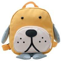 Bolsas de la escuela Dibujos animados Nylon Niños Mochilas Kindergarten Schoolbag Animal Puppy Niños Mochila Linda Chicos
