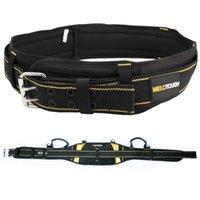 Belts de Ferramenta Respirável Belts para Homens Ferramentas Ferramentas Ferramentas Oxford Tecido Multifuncional Ajustável Destacável Reduzir Ferramentas de Peso Cintos 210324