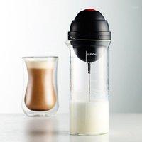캠프 주방 수직 타입 밀크 음료 커피 털이 자동 믹서 전기 달걀 비틀기 frother 거품 교반기 실용적인 요리 toolbwe9989