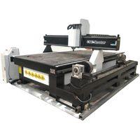 المتقلبون الكهربائية التلقائي آلة قطع الخشب cnc لصناعة الأثاث النقي صناعة الطحن / 3.0kw راوتر 1325 مع طاولة فراغ