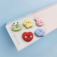 Korea Cute Frog Rabbit Cloud Heart Satr Resin Charms for Jewelry Making Flatblack Pendant Diy Earring Accessories