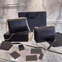 Top Design de luxe Sac de soleil Classic Dernière couleur Femme Sacs à bandoulière Chaîne Sac à main Sac à dents Modèle Cuir Femme Handbags Handbags Divers styles