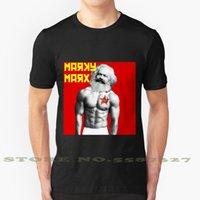 Sommer T-Shirt für Männer Frauen Mark Marx Marky Lustige Kommunistische Red Hammer und Sichel Star Sozialistische Russland