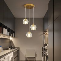 Shinny Crystal Pendant Lamp for Living Room Bedroom Hotel Restauran lamps Adjustable Height G9 sockets Luster Indoor Light R460