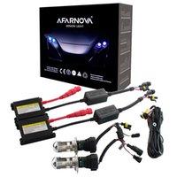 Un conjunto H7 Xenon Hid Kit H4 H1 H1 H8 9005 HB3 9006 HB4 881 D2S Xenon Hid Ballot para la luz de la luz del coche 4300K 6000K 8000K 12V