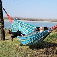 Hammocks Adults Two-person Chair Hammock Swing Portable 150 Kg Load-bearing Outdoor Garden Travel Camping Sleeping