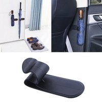 Hooks & Rails 1Pcs Universal Car Trunk Umbrella Holder Rear Mounting Bracket Towel Hook Goods Automobile Organizer Accessories