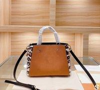 Montaigne leopar kabartmalı kılıf kadın çanta tasarımcılar klasik bayan moda omuz çantaları kızlar crossbody alışveriş çantası