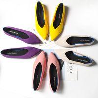 Женская плоская обувь Zapatos de Mujer Осень 2021 Мокасины Балерин Femme Tenis Feminino Casual Black для дам Заостренные носки квартиры