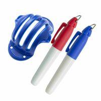 Golf Training Aids Scriber Drawing Pen Set Painting Ball Marking Push Rod Line Stadium Accessories Multi-color