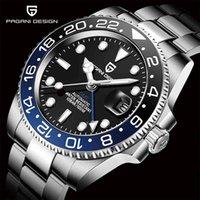 Ontwerper horloge Merkhorloges Luxe horloge Al Pols Rvs GMT Top Sapphire Glass Mannen Reloj Hombre