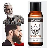 1 шт. 30 мл Mokeru 100% натуральный органический бородой рост масла для мужчин бороды груминга лечение блестящая сглаживание борода уход
