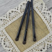 Professional Eyeshadow Makeup Brushes Set Black Wood Handle Synthetic Hair Eye shadow Eyebrow Eyeliner Blending Smudge Brush 200 pcs DHL