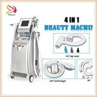 2022 4in1 Multifunction OPT IPL Hair Removal Machine SHR Laser Epilator Skin Rejuvenation Whitening Face Lifting Carbon Peeling