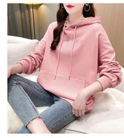 Fashion boutique sweatshirt men and women couples simple loose casual letter printed cotton brand top size M-2XL