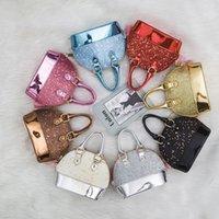 Детские мини-сумки для девочек, сверкающие блеск Сумки малыша дети раковины сумка с цепью милый кошелек 8 цвет