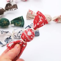 Cat Toys Creative Cute Christmas Candy Catnip Toy Interactive Sounding Bell Pet Molar Teeth Chewing Supplies