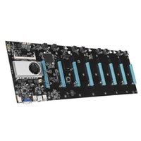 BTC-S37 65mm Motherboard Entfernung Experte Gigabit Bitcoin / ETH ATX BTC 8GPU Mining Board