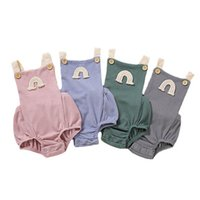 Newborn Rompers Baby Kids Clothes Infant Boys Jumpsuit Summer Cotton Girls One Piece Clothing Bodysuits Onesies B5441