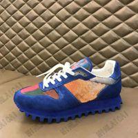 Erkek Kaçmak Renkli 5D Sneaker Düşük Üst Tasarımcı Ayakkabı Koşucu Eğitmenler Deri Dantel-up Kauçuk Taban Mans Luxurys Tasarımcılar Rahat Ayakkabılar