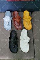 톱 럭셔리 여성 가죽 슬라이드 샌들 야외 레이디 비치 샌들 캐주얼 슬리퍼 숙녀 컴포트 워킹 신발